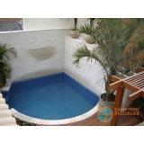 comprar piscina de fibra com spa preço Belenzinho