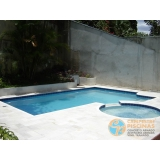 comprar piscina de fibra para condomínio preço Campo Belo