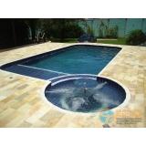comprar piscina de fibra reforçada para condomínio Belém