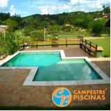 comprar piscina de vinil com prainha melhor preço Cotia