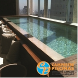 comprar piscina de vinil para chácaras valor Franco da Rocha