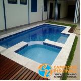 comprar piscina de vinil para condomínio melhor preço Casa Verde