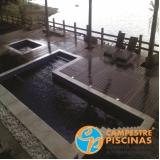 comprar piscina de vinil para resort melhor preço Campo Grande