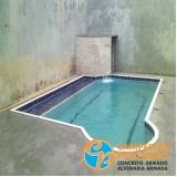 comprar piscinas de concreto com visores Jardim Santa Helena