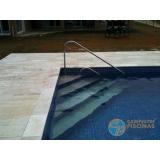 comprar piscinas de fibra com borda sem fim São Caetano do Sul