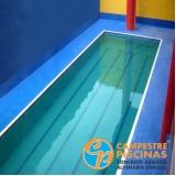 construção de piscina com borda infinita valor Cursino