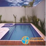 construção de piscina com borda infinita Vila Guilherme