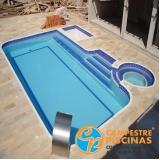 construção de piscina concreto Butantã