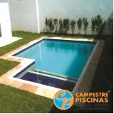 construção de piscina de alvenaria com azulejo Aeroporto