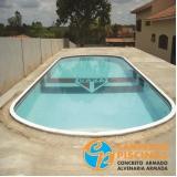 construção de piscina de alvenaria com prainha Pacaembu