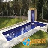 construção de piscina elevada sob medida Santos