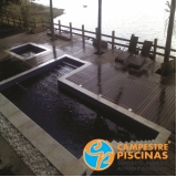 construção de piscina elevada valor Jaboticabal