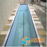construção de piscina em alvenaria sob medida Belém