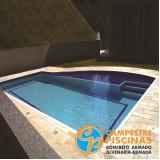 construção de piscina em clube Tatuapé