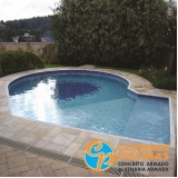 construção de piscina fibra valor Jaguaré
