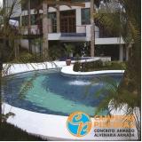 construção de piscina fibra Piracicaba