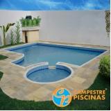 construção de piscina na cobertura valor Mendonça