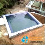 construção de piscina valor Praia Grande