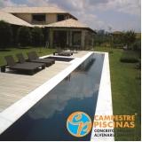 contratar reforma de piscina de concreto Cajamar