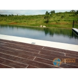 empresa de acabamento de piscina de alvenaria Taubaté