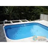 empresa de acabamento de piscina de fibra Pedreira