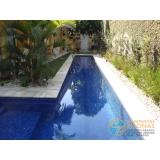 empresa de acabamento para piscina de fibra Saúde