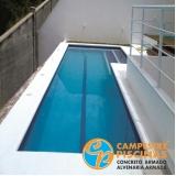 empresa para comprar iluminação para borda de piscina Ubatuba