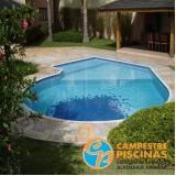 empresa para comprar piscina de vinil com borda infinita Jardim São Luiz