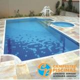 empresa para comprar piscina de vinil com deck Chora Menino