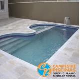 empresa para comprar piscina de vinil para resort Araraquara