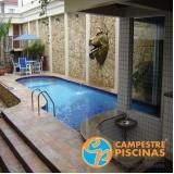 empresa para construção de piscina fibra Jardim Iguatemi