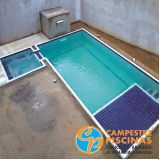 empresa para construção de piscina na cobertura Jardim Santa Helena