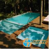 empresa para tratamento automático de piscina em com borda infinita Santo André