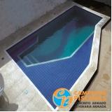filtro de piscina de vidro