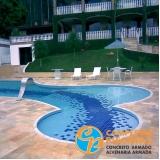 iluminação para piscina de vinil