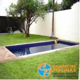 iluminação piscina coberta
