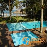 iluminação para beira de piscina Paranapanema