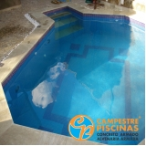 iluminação para piscina de alvenaria Jardim das Acácias