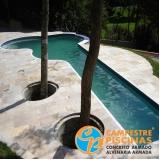 iluminação para piscina de fibra valor Pompéia