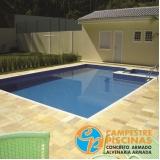 iluminação para piscina de fibra Jumirim