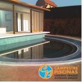 iluminação piscina coberta preço ABCD