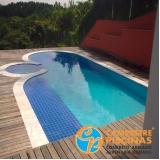 loja para construção de piscina com vidro Embu