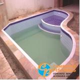 manutenção de piscina de fibra de vidro Parque Peruche