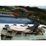 obra de acabamento de área de piscina Parque Santa Madalena