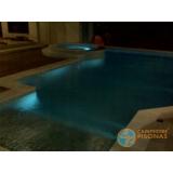 obra de acabamento para piscina de fibra Vila Anastácio