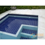 obra de acabamento piscina de vinil Brasilândia