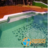 onde encontro acabamento para piscinas pequenas Cesário Lange