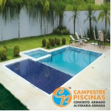 onde encontro piscina de concreto para chácara Jaboticabal