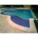 onde fazer piscina de concreto com prainha Marapoama
