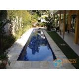 onde fazer piscina de concreto com revestimento Araraquara